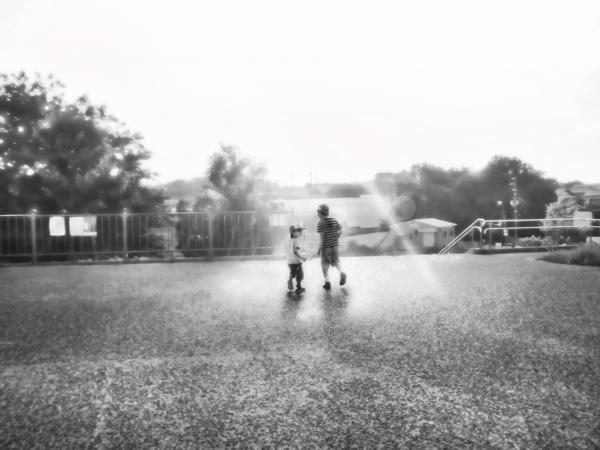 狭山池:一緒 2012-06-02